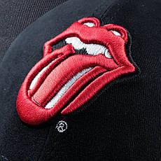 Бейсболка ROLLING STONES 3D вышивка, фото 3