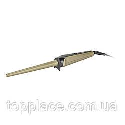Плойка конусная Geemy GM-2914, Gold-Black