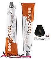 Профессиональная стойкая крем-краска для волос - BBCOS -  2/0, 100мл