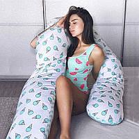 Подушка для беременных с наволочкой Premium