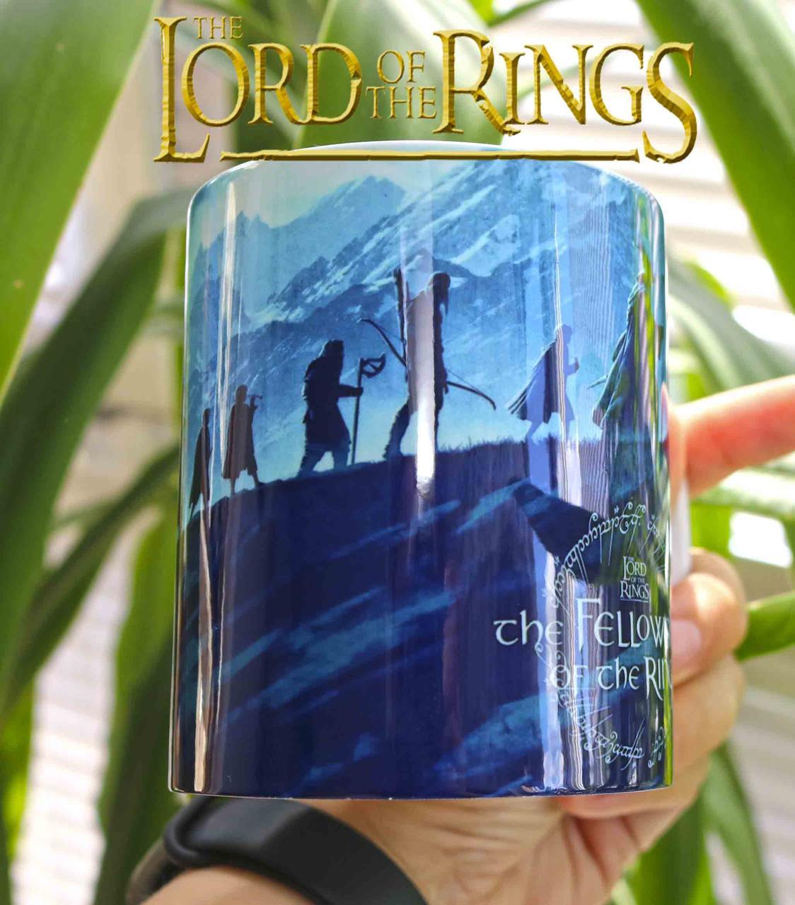 Чашка Властелин колец поход в гору / The Lord of the Rings