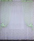 """Декоративний комплект комбінація зі шторами-нитками """"Серпанок"""" 3,м*2,5 м. Код 029дк (160-033) е 810, фото 2"""