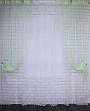 """Декоративний комплект комбінація зі шторами-нитками """"Серпанок"""" 3,м*2,5 м. Код 029дк (160-033) е 810, фото 4"""