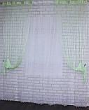 """Декоративний комплект комбінація зі шторами-нитками """"Серпанок"""" 3,м*2,5 м. Код 029дк (160-033) е 810, фото 5"""
