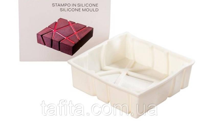 Силиконовая форма для муссового десерта