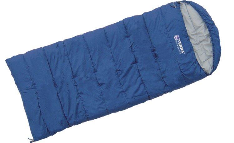 Спальник Terra Incognita Asleep Wide 300 L лівий Синій (TI-02296)