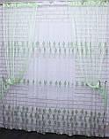 "Декоративный комплект комбинация со шторами-нитями ""Кисея""  3,м*2,5м. Код 029дк (177-033) е806, фото 3"