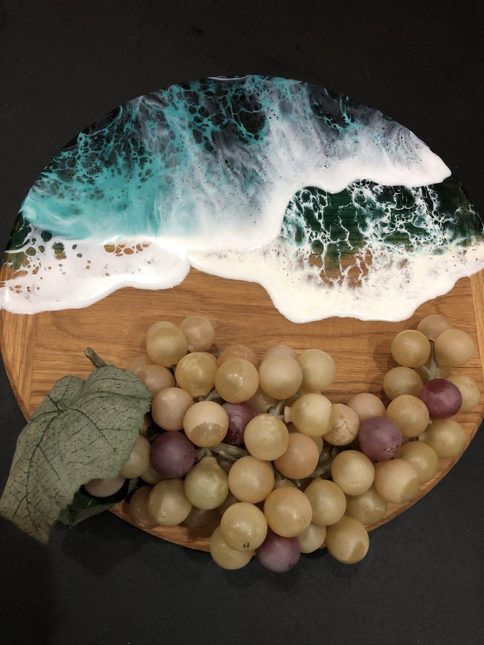 Доска кругля—море