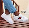 Женские белые кроссовки,кеды на толстой подошве