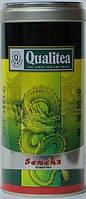 Чай Qualitea зеленый листовой Сенча 100 г ж/б