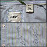 Рубашка с Вышивкой GUESS Длинный рукав Б/У размер М, фото 10