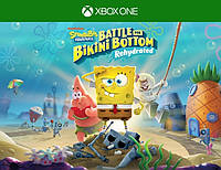 SpongeBob SquarePants: Battle for Bikini Bottom - Rehydrated для Xbox One (иксбокс ван S/X)