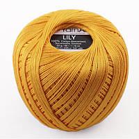 Пряжа Lily 50гр - 225м (5307 Жёлтый) YarnArt
