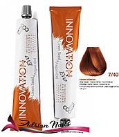 Профессиональная стойкая крем-краска для волос - BBCOS -  7/40, 100мл