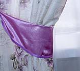 """Комплект ламбрекен со шторами """"Маргарита"""" на карниз 3м. Код 097лш219(розовый), фото 4"""