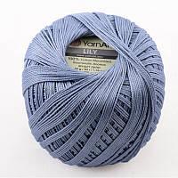 Пряжа Lily 50гр - 225м (0551 Голубой) YarnArt