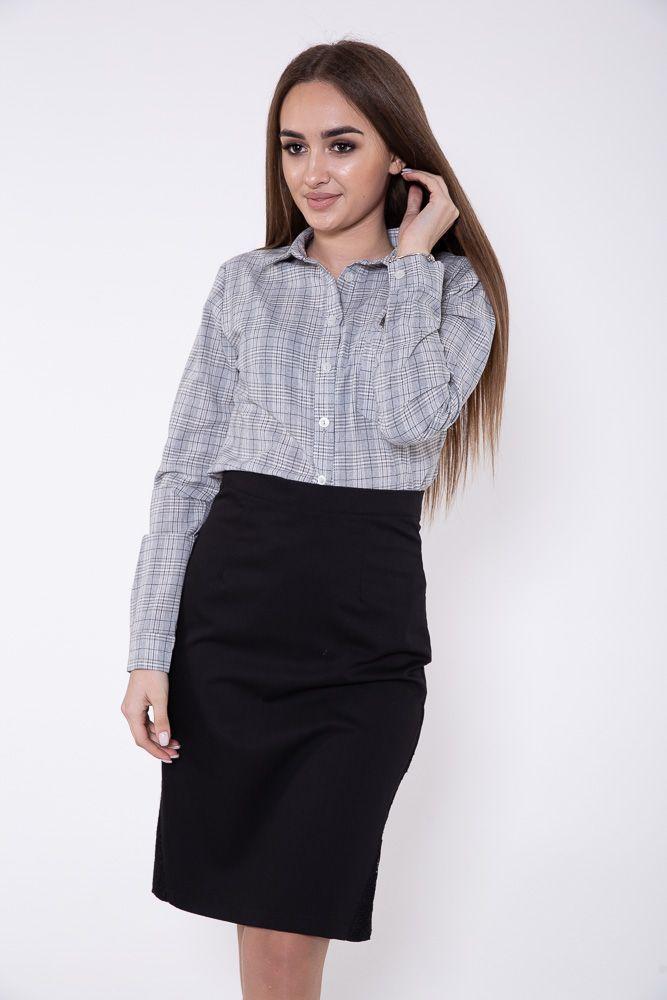Рубашка женская цвет Серо-бежевый
