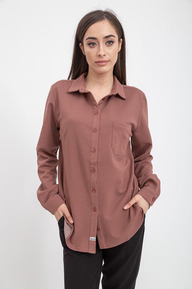 Рубашка женская цвет Пудровый