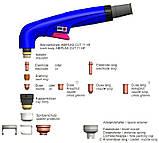 Плазмотрон ручной ABIPLAS® CUT 71 HF 6м ZA, фото 2