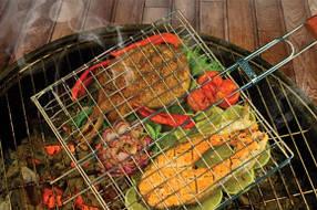 Решетка для гриля BBQ BN- 901 Benson, Решетка для барбекю, Сетка-барбекю, сетка гриль