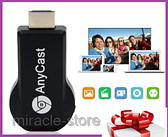 Медиаплеер Miracast AnyCast M4 Plus hdmi с встроенным WiFi модулем