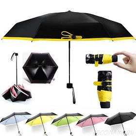 Карманный зонтик MINI POCKET UMBRELLA капсула