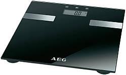Весы напольные AEG PW 5644 FA 7 в 1 Черные Германия
