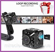 Мини видеокамера SQ8 Full HD 1080P мини камера видеорегистратор