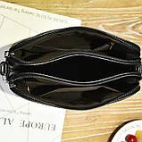 Женская сумка бордовая код 3-458, фото 4