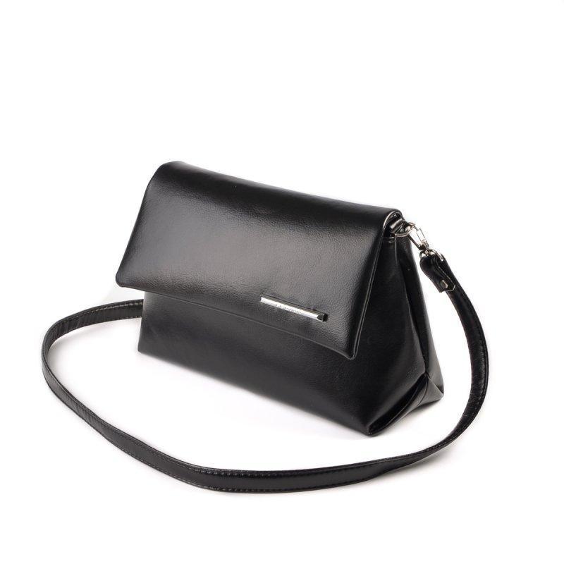 Небольшая женская черная сумка код 15-138