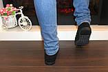 Туфли женские черные замшевые Т093, фото 5