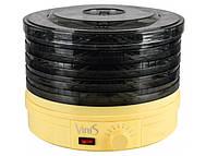 Сушилка Для Овощей И Фруктов Vinis VFD-361 С Мощность 360 Вт Объем 8,3 Л