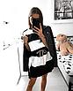 """Симпатична жіноча літнє плаття в смужку з тонким паском """"Ребеккэйнн"""", фото 3"""
