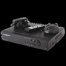 УЦ (4237) Видеорегистратор гибридный AHD Green Vision  GV-A-S 030/04 * 1080P