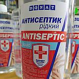"""Рідина для дезінфекції-антисептик 1л.ТМ""""DONAT"""" Антисептик 1 л (санитайзер) жидкий для рук 65% спирта DONAT, фото 2"""
