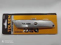 Нож трапеция Tolsen алюминиевый SK5 (30008) Ніж інструментальний 61 мм Tolsen