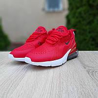 Женские кроссовки Nike AIr Max 270. Модные женские кроссовки красные. ТОП КАЧЕСТВО!!!Реплика.