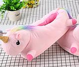 Женские тапочки игрушки Единороги розовые,36-40, фото 2