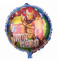 Фольгированный шар  Железный человек 18 дюймов