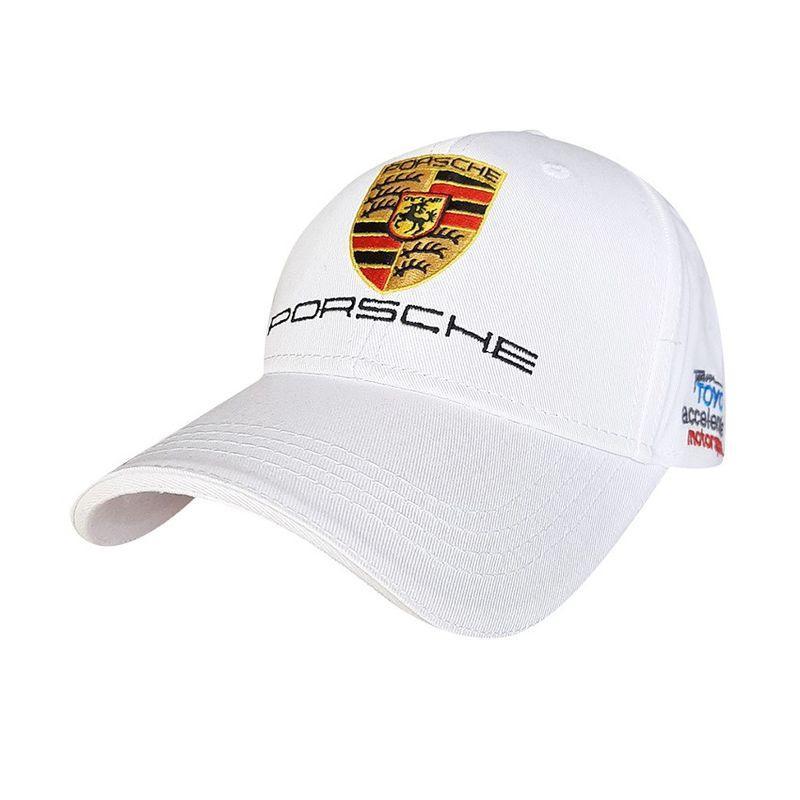 Кепка чоловіча Sport Line білого кольору Porsche