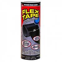 Водонепроницаемая изоляционная клейкая лента скотч 30х150 см Флекс тейп Flex Tape черный