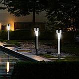 Садовый фонарь для дорожки на солнечной батарее, фото 2