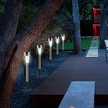 Садовый фонарь для дорожки на солнечной батарее