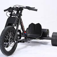 COOLBABY Electric Drift Trike, для взрослой скоростной педали Slidsr Go Kart Высокоскоростная толстая шина эле
