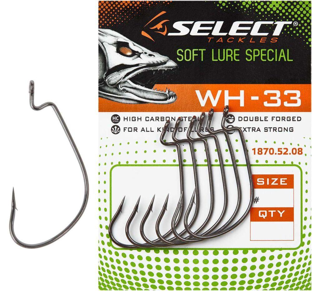 Крючки Select WH-33 #2 (1уп=6шт) 1870.52.10