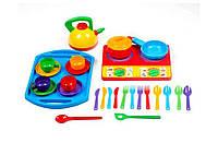 Посуда Юная господарочка №10 Бамсик 28 элементов