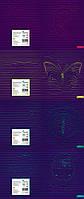 Зошит 96 арк клітинка -96-№961 ТМ ПАН ПЕЙПЕР з УФ-ЛАК покриттям 10шт в упак-ТЕ990