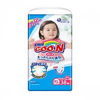Трусики-подгузники GOO.N для девочек 12-20 кг размер Big (XL)