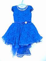 """Платье бальное на девочку со шлейфом (4-5 лет) """"California"""" ZR-27037"""