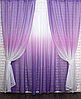 Готові штори в комплекті з тюлем, фото 5